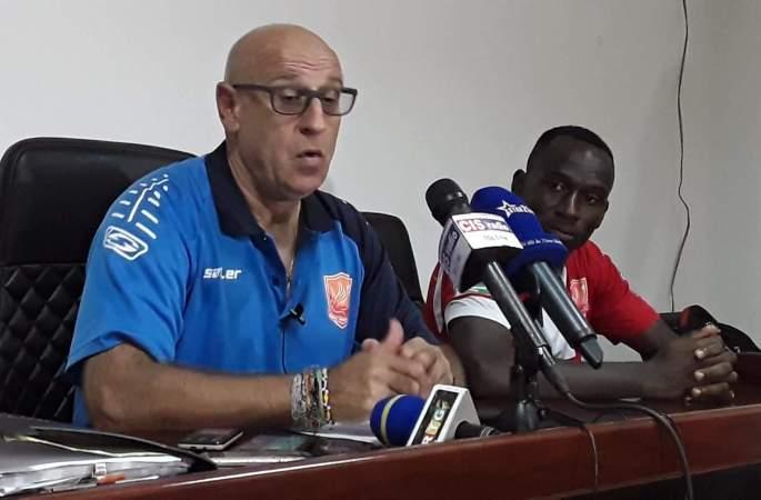Patrice Neveu espère gagner contre l'Egypte demain
