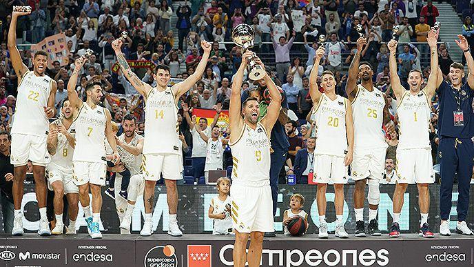 Walter Tavares remporte la Supercoupe d'Espagne avecle Real