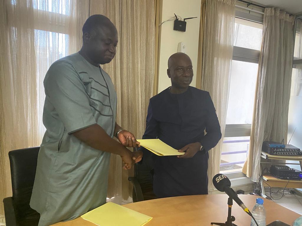 Les présidents des Fédérations sénégalaise et gambienne de Golf