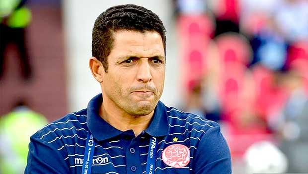 Houcine Ammouta, le sélectionneur du Maroc A'.