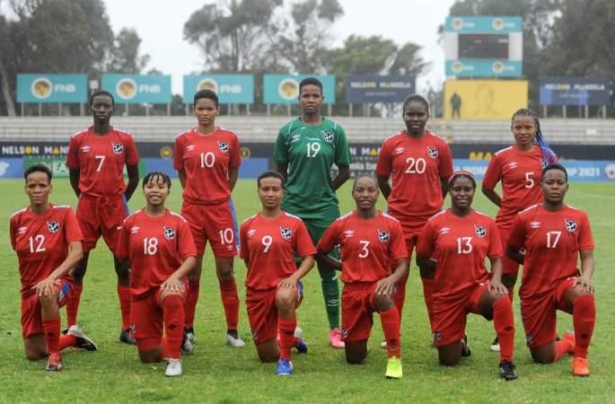 L'équipe féminine de la Namibie