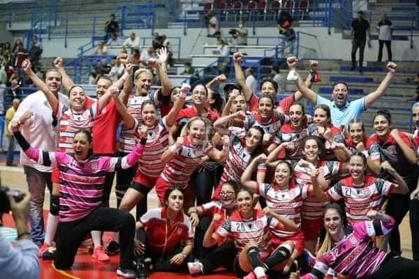 Club Africain remporte le championnat féminin (2)