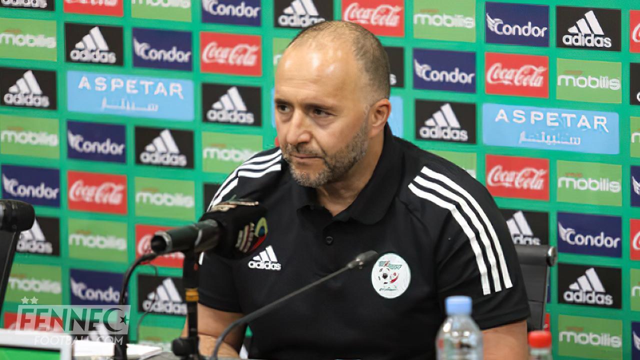 Djamel Belmadi, le sélectionneur de l'Algérie.