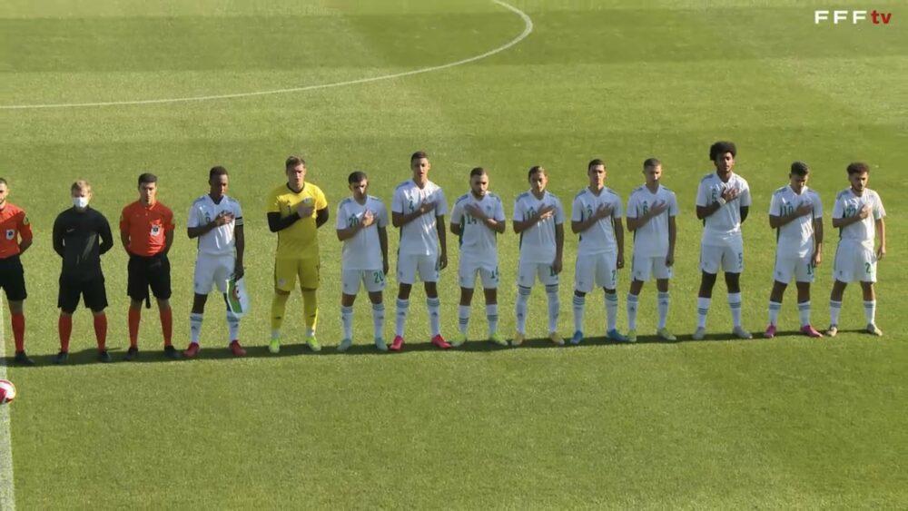 Les U18 de l'Algérie