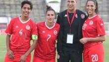 Samir Landolsi, coach Tunisie avec ses joueuses