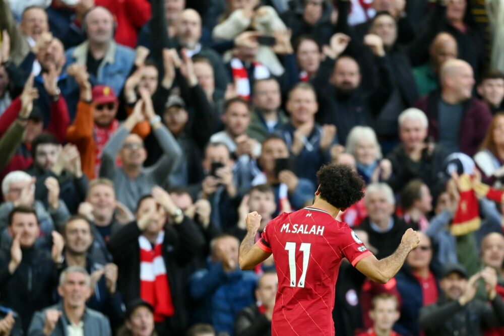 Mohamed Salah de gala enflamme Anfield