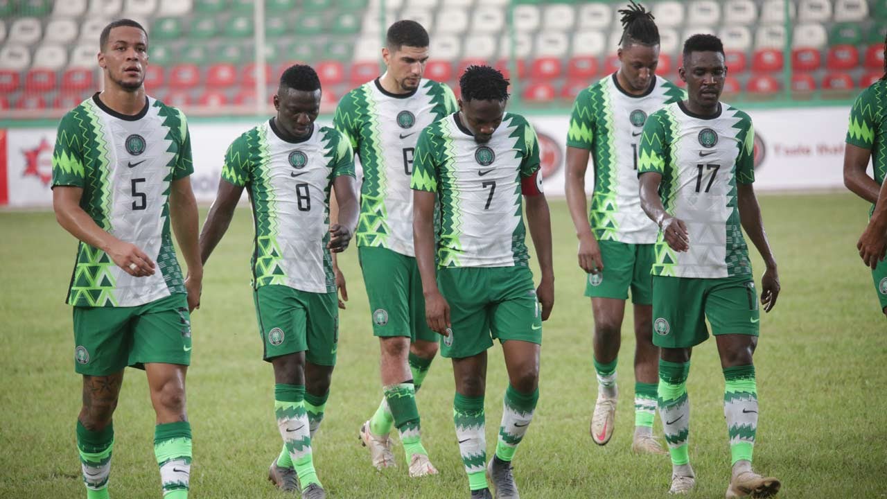 Les Super Eagles sortent tête baissée du terrain après leur défaite (0-1) à domicile contre la Centrafrique.