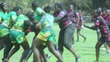 L'équipe du Sénégal féminine de rugby à XV