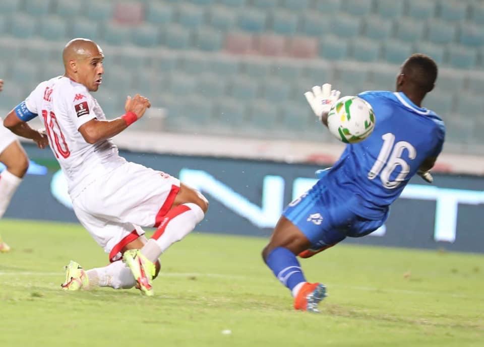 Wahbi Khazri Tunisie buteur contre la Guinée équatoriale