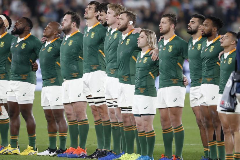 Les Springboks retrouvent la première place du classement mondial.